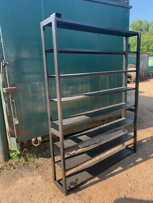Racking 7 Shelves Garages // Offices // Workshops. 80 x 60 50 avail. + P/&P