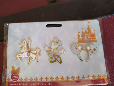 Set pins Minnie Mouse The Main Attraction, Disney Store (7 de 12)