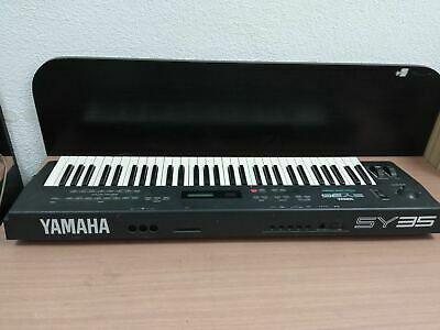 POWER SUPPLY FOR THE YAMAHA SY35 MUSIC SYNTHESIZER ADAPTER UK 12V 1A