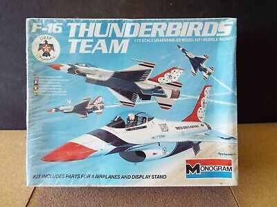 """Rare USAF THUNDERBIRDS F16 FIGHTING FALCONS poster 15/""""x10/"""" Formation flying NOS"""