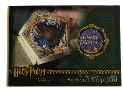 Harry Potter SS Chocolate Frog Prop Card
