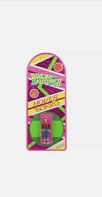 Back To The Future ReAction Figure - Marty McFly Hoverboard SDCC 2020 Super 7