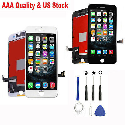 For iPhone 8 Plus 8 Screen Replacement LCD Display Touch Digitizer Assembly+Tool
