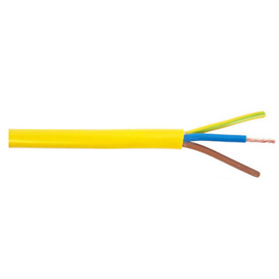 10m 6mm 3 Core Arctic Blue Flex Cable 3183AG 40 AMP Rated BS6004 BASEC Approved Outdoor Cable Hookup Leads