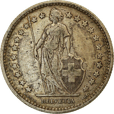 [#853751] Coin, Switzerland, 2 Francs, 1903, Bern, VF, Silver, KM:21