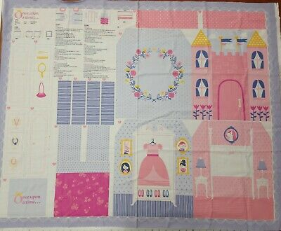 Moda Once Upon A Time Princes Fabric Panel 90cm x 110cm Sold Per Panel
