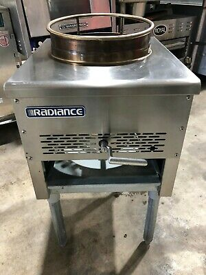 """Radiance Tawr-13 Radiance"""" Opening Gas Wok Range W Duck Burner New Out Of Box"""