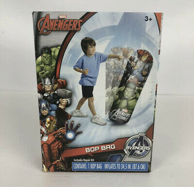 Avengers Children's Bop Bag Exercise Kids Punching Bag toy Marvel Stocking Gift