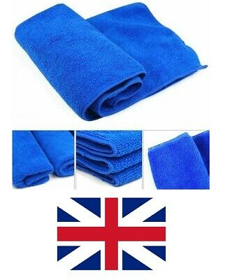 5x Large Microfibre Cleaning Auto Car Detailing Soft Cloths Wash Towel Duster-UK