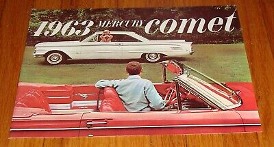 1966 Mercury Comet Cyclone Caliente Capri Wagons Large NOS Sales Brochure
