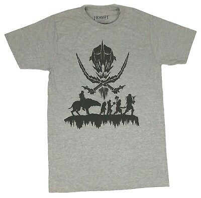 The Lord Of The Rings Men's Grey T-shirt BNWTS SIZE XL