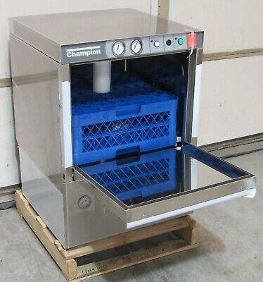 NEW Champion UH-170B Undercounter Dishwasher High Temp 180°F w/ Booster 208/240V