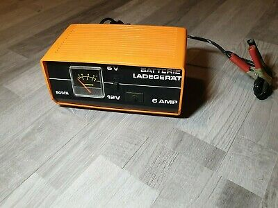 Ladegerat Battery Battery Charge 6V 12V 6AMP BOSCH