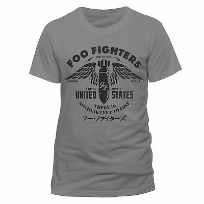 Foo Fighters Official Nothing To Lose Tee T-Shirt Dave Grohl Mens Ladies Unisex