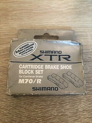 Shimano XTR Cantilever Cartridge Brake Shoe Set NIB M900 M910 XT 737 Klein M70/R