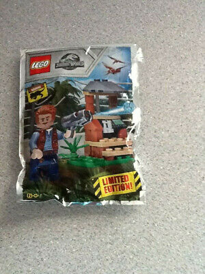 Limited Edition Lego Jurassic World Owen Grady Polybag