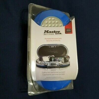 Personal Safe Set Your Own Combination Portable Space Master Lock Gunmetal Grey
