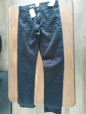 Next Boys Regular Fit Black  Jeans  Size Age 12Years 152cm