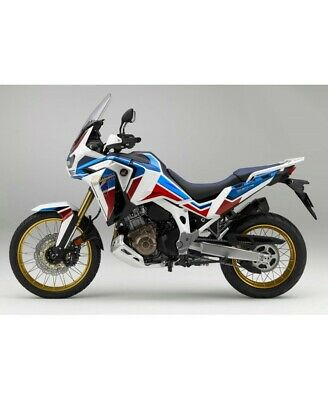 KIT 2 PROTEZIONI ADESIVE VALIGIE HONDA AFRICA TWIN CRF1000L ADVENTURE SPORTS VHA-003 Gray