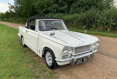 Triumph Vitesse 6 Mk1 1962  A good condition solid car ready to enjoy