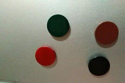 x100 Coral 1x1x1//4 Circle Round Flat Tiles Friends Potter City *NEW* LEGO 25269