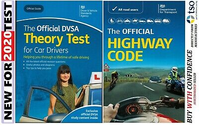 Theory Test Car Drivers Book and Official Highway Code 2020 *thrbk+hw