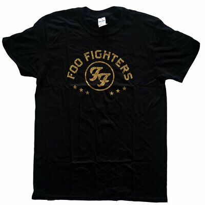 Foo Fighters Arched Stars Official Tee T-Shirt Mens Unisex