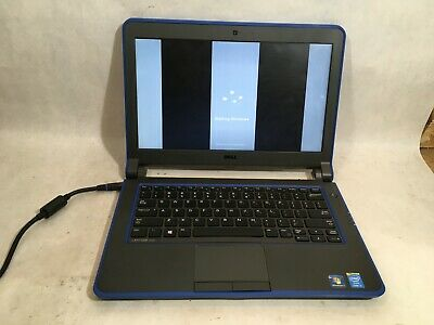 Dell Latitude 3340 Core i3 Powers On Bad Screen 4 GB Ram 320 GB HDD Win 7- FT