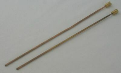 2x Clock Bronze Gong Rods 205 & 195mm chime hammer clocks clockmakers parts
