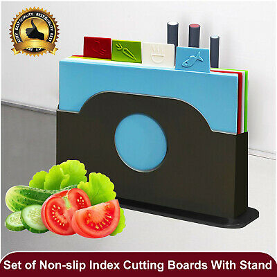 Kitchen Chopping Boards Colour Coded Hygiene Catering Food Cutting Board Set