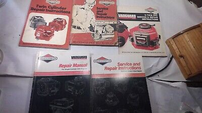 Briggs Stratton Manuals 5 Piece 4 Cycle, V-twin