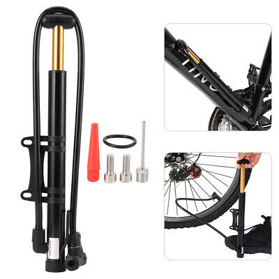 Hot 90PSi Mountain Inflator Universal 30cm High Pressure Electric Bicycle Pump