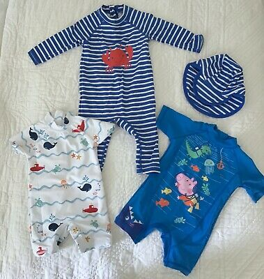 Baby Boy Swimsuits - 6-9 months - Excellent Condition