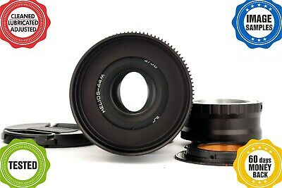 HELIOS 44 2/58mm Cine mod lens *ANAMORPHIC BOKEH**Your camera adapted!* 44-2