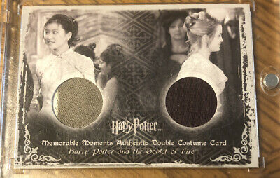 Harry Potter MM2 C9 Do Costume Card Cho And Hermione Rear Error Card See Pics