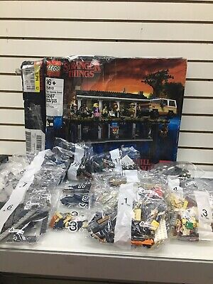 LEGO The Stranger Things: The Upside Down (75810) Complete Set Box Damaged