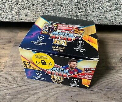 Topps Match Attax 101 Season 2019/20 Football Cards- Full Box x24 Packs