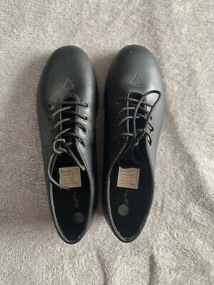 Beautiful Tap Shoes Womens 8.5 W Synthetic Leather With Laces