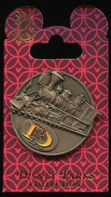 DLR Disneyland Resort Railroad Locomotive Train Medallion Disney Pin 116758