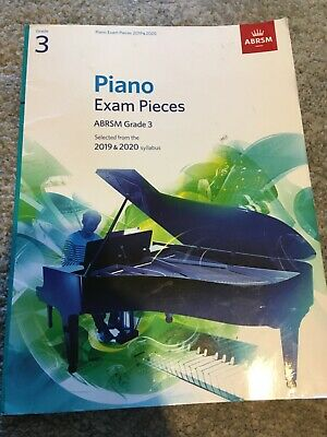 Abrsm piano exam pieces grade 3 2019&2020 stllabus