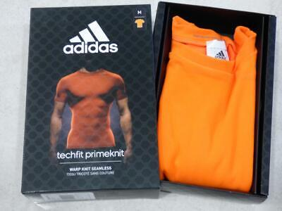 New Adidas techfit primeknit short sleeve base layer top t-shirt. Size Small