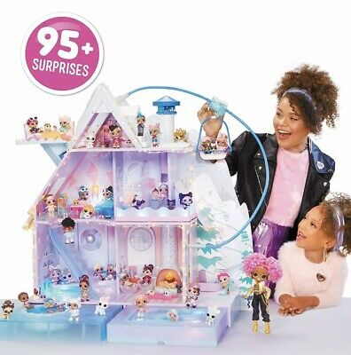 LOL Surprise Winter Disco Chalet Doll House - 95+ Surprises!!! (BRAND NEW)