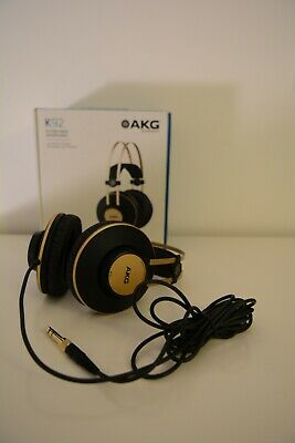 New AKG K92 Headphones - Black and Gold - Unwanted gift (opened)