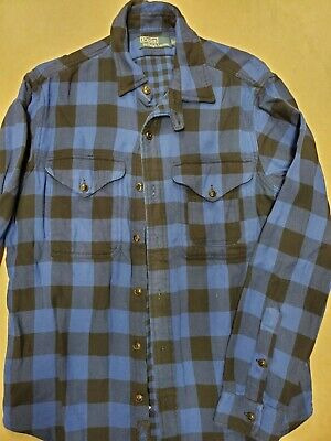 Ralph Lauren Polo mens M ls button down flannel shirt never worn