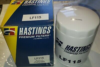 Hastings LF115 Engine Oil Filter, USA Made
