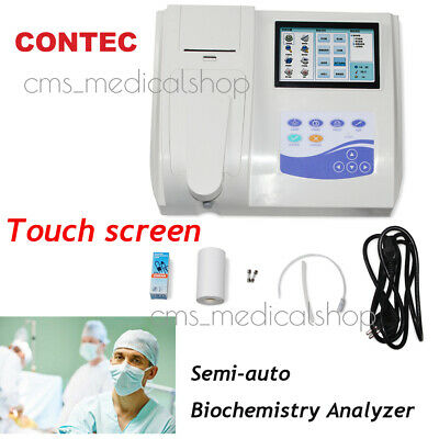 CONTEC Semi-auto Biochemistry Analyzer with Open reagent,LCD Touch Screen