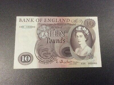 Bank of England -  Old Large brown Ten pound note.