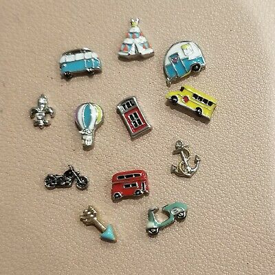 Origami Owl Retired Travel Charms- BUY 3 CHARMS, GET 1 CRYSTAL FREE