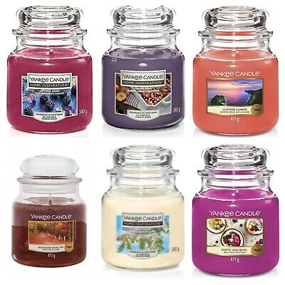 Official Yankee Candle Large Scented Jars 623g Christmas Home Collection Gift