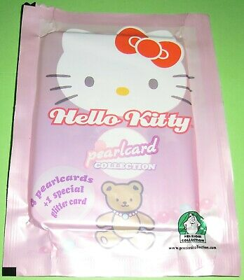 Hello Kitty pearlcard Collector Book pearlcards alle 124 Stk